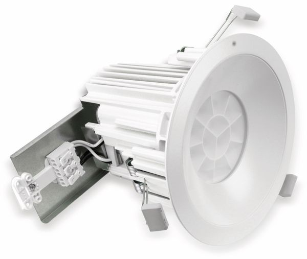 LED-Deckeneinbauleuchte TOSHIBA LEDD70001W-LS24EU, EEK: A, 4000 K, weiß - Produktbild 1