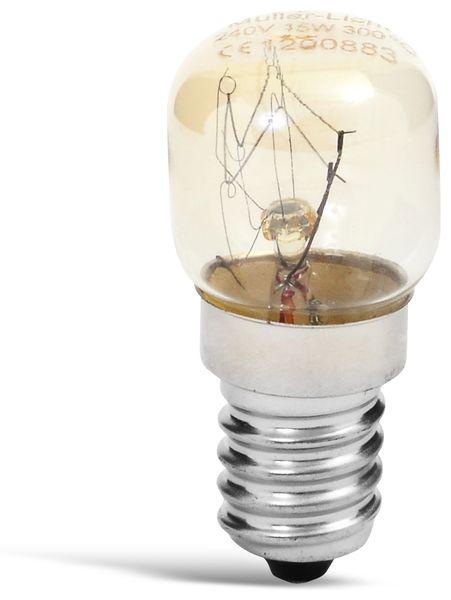 Backofenlampe MÜLLER-LICHT 100010, E14, EEK: E, 15W, 90lm, 300°C, 2400K