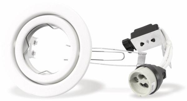 LED-Deckeneinbauspot TOSHIBA LEDEUD00177C, GU10, weiß - Produktbild 2