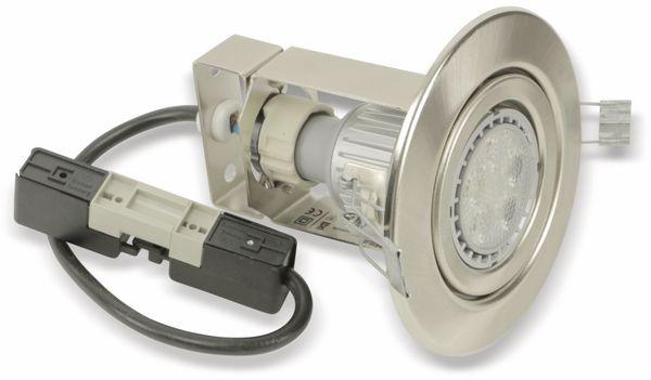 LED-Deckeneinbauspot TOSHIBA LEDEUD00002S30, EEK: A, GU10, 8,5 W, 275 lm - Produktbild 1