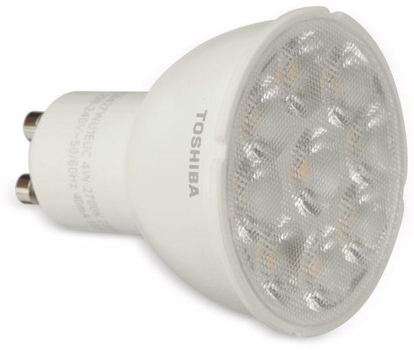LED-Lampe TOSHIBA LDRC0427WU1EUC, GU10, EEK: A+, 4 W, 230 lm, 2700 K - Produktbild 1