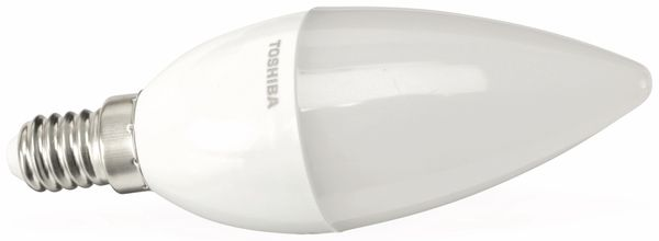 LED-Lampe TOSHIBA LDC004D27600DEU, E14, EEK: A+, 4,5 W, 270 lm, 2700 K