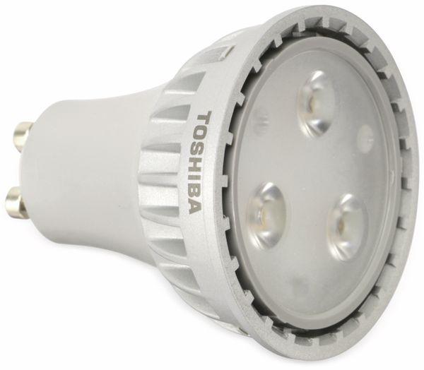 LED-Lampe TOSHIBA LDRC0627WU1EUD2, GU10, EEK: A, 7,1 W, 345 lm, 2700 K - Produktbild 1