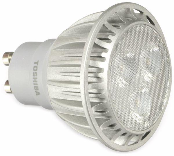 LED-Lampe TOSHIBA LDP004D30M40DEU, GU10, EEK: A+, 4,5 W, 230 lm, 3000 K - Produktbild 1