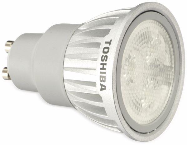 LED-Lampe TOSHIBA LDRC0627WU1EUD, GU10, EEK: A, 6,5 W, 270 lm, 2700 K - Produktbild 1