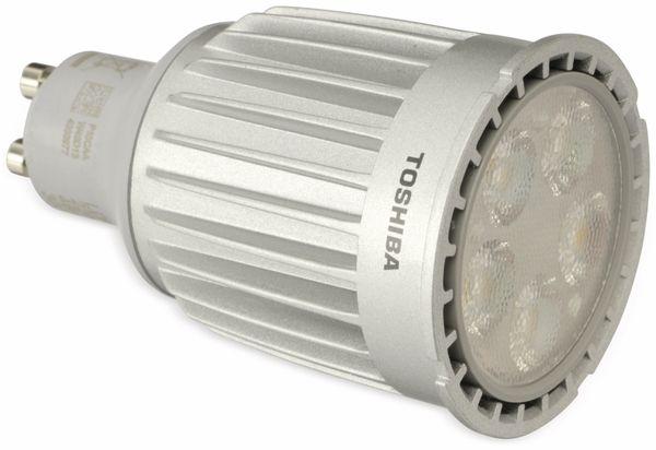 LED-Lampe TOSHIBA LDRC0930WU1EUD2, GU10, EEK: A, 9 W 550 lm 3000 K dimmbar - Produktbild 1