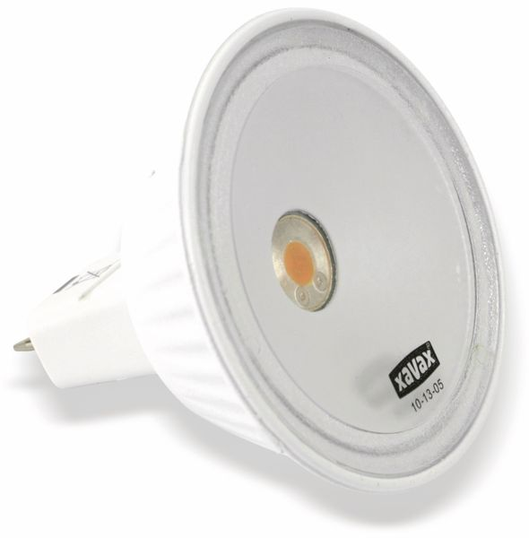 LED-Lampe XAVAX 112078, GU5.3, EEK: A, 5,5 W, 270 lm, 2700 K - Produktbild 1