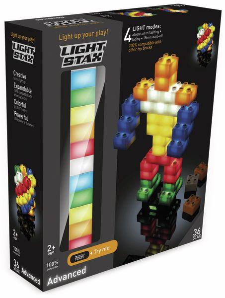 Bausteine LIGHT STAX Junior Advanced Set 34235, 36 Stax, 2x2, bunt