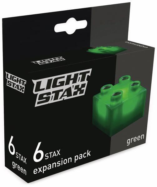 Erweiterungs-Bausteine LIGHT STAX Expansion Pack 34240, grün, 2x2, 6 Stück