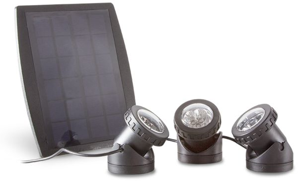 Solar Gartenleuchten Set Logilink Led003