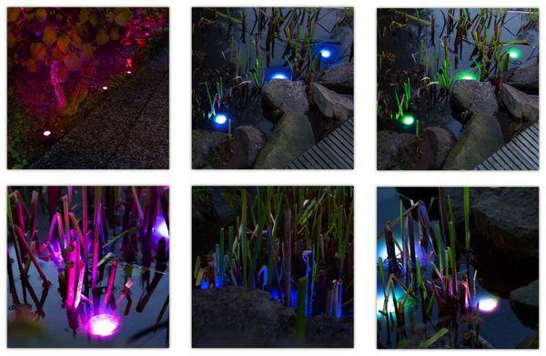 Solar-Gartenleuchten-Set LOGILINK LED003 - Produktbild 5