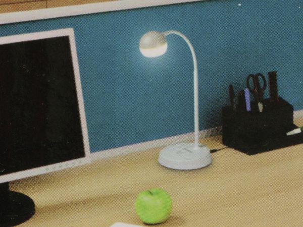 LED-Schreibtischleuchte GRUNDIG, 4,5W, 220lm, USB, Kugel, weiß - Produktbild 5