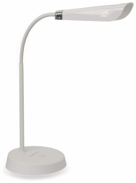 LED-Schreibtischleuchte GRUNDIG, 4,5W, 220lm, USB, Oval, weiß - Produktbild 1