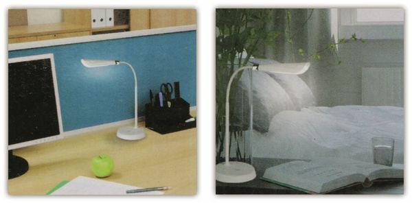 LED-Schreibtischleuchte GRUNDIG, 4,5W, 220lm, USB, Oval, weiß - Produktbild 4