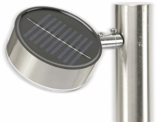 Solar-Gartenleuchte GRUNDIG, silber, 65cm - Produktbild 2