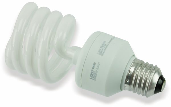 Energiesparlampe GT-ESLsp 23/27, E27, EEK: A, 23 W, 1510 lm, 2700K