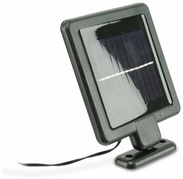 Solar LED-Strahler mit Bewegungsmelder, 1 W, 180 lm, 4200 K, schwarz - Produktbild 2