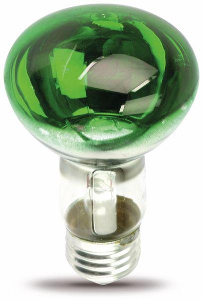 Reflektorlampe R63, grün, EEK: D