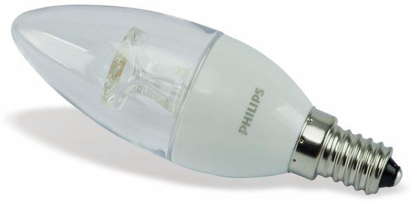 LED-Lampe PHILIPS, E14, EEK: A+, 4 W, 250 lm, 2700 K - Produktbild 1