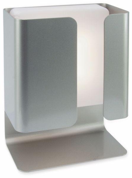 Tischleuchte PHILIPS Novum, EEK: A+, 4,5 W, 340 lm, silber - Produktbild 1