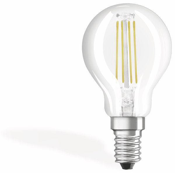 LED-Lampe OSRAM BASE CLASSIC P, E14, EEK: A++, 4 W, 470 lm, 2700 K, 3 Stück - Produktbild 1