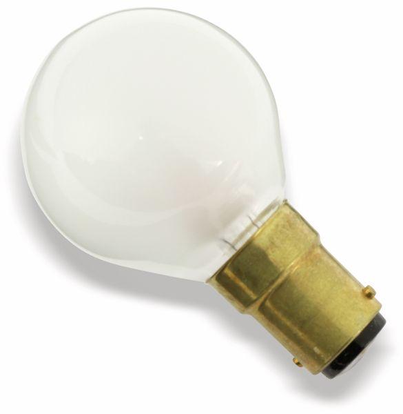 Glühlampe, B15d, 48 V/25 W, matt