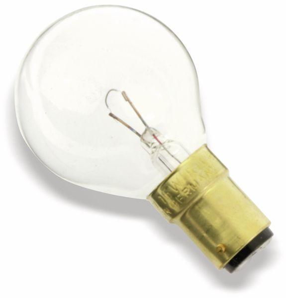 Glühlampe, B15d, 12 V/15 W, klar