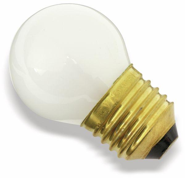 Glühlampe, E27, 12 V/15 W, matt