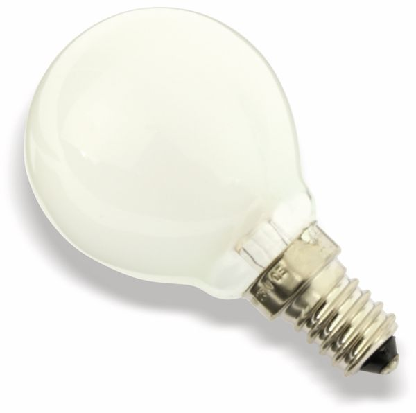 Glühlampe, E14, 260 V/25 W, matt
