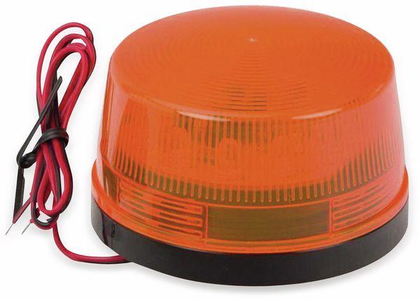 LED-Signalgeber, Ø 73 mm, 12 V-, orange