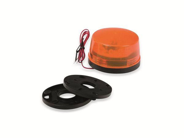 LED-Blinkleuchte, Ø 73 mm, 12 V-, orange - Produktbild 2
