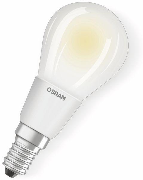 LED-Lampe OSRAM RETROFIT CLASSIC P, E14, EEK: A++, 6 W, 806 lm, 2700 K, dimmbar
