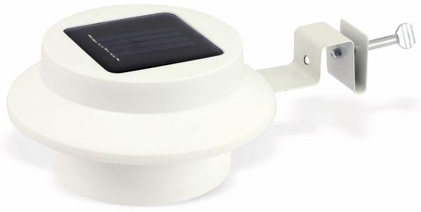 LED Solar-Zaunleuchte, weiß - Produktbild 1