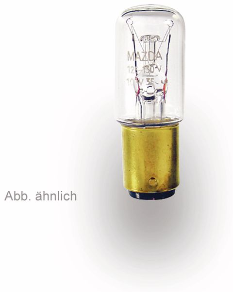 Spezial-Glühlampe, BA15d, 36 V/3 W, EEK: E, klar