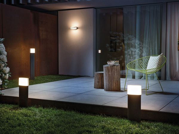 LED-Weg-Leuchte, OSRAM ENDURA STYLE Ellipse, EEK: A, 13 W, 890 lm, 500 mm - Produktbild 4
