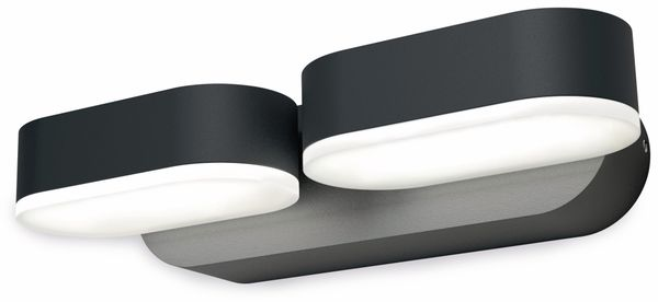 LED-Leuchte, OSRAM ENDURA STY Mini Spot II, EEK: A, 13 W, 630 lm, dunkelgr. - Produktbild 1