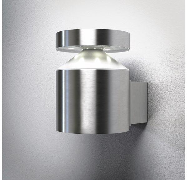 LED-Leuchte, OSRAM ENDURA STYLE Cylinder Wall, EEK: A, 6W, 360lm, Edelstahl - Produktbild 2