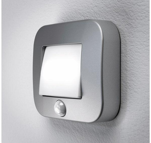 LED-Nachtlicht OSRAM NIGHTLUX Hall, mit Bewegungssensor, silber - Produktbild 1