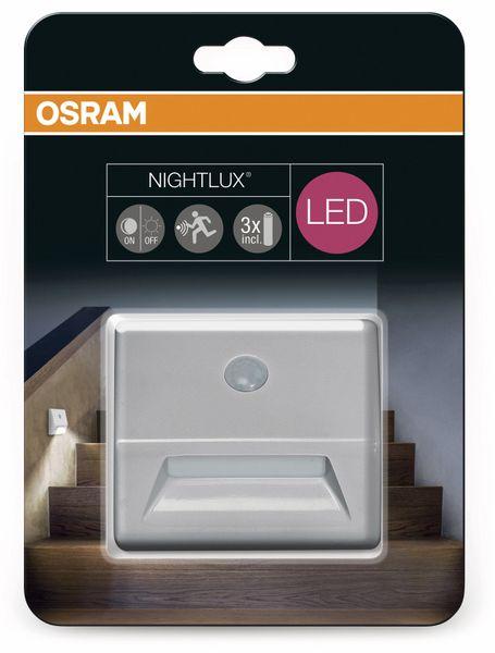 LED-Nachtlicht OSRAM NIGHTLUX Stair, mit Bewegungssensor, silber - Produktbild 6