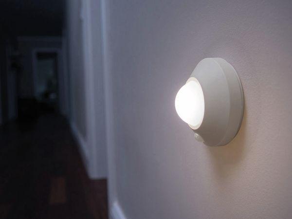 LED-Decken Nachtlicht OSRAM NIGHTLUX Ceiling, mit Bewegungssensor, silber - Produktbild 2