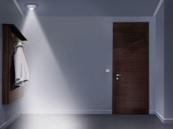 LED-Decken Nachtlicht OSRAM NIGHTLUX Ceiling, mit Bewegungssensor, silber - Produktbild 3