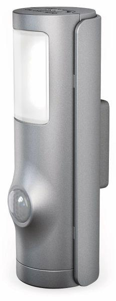 LED-Nachtlicht OSRAM NIGHTLUX Torch, mit Bewegungssensor, silber - Produktbild 1