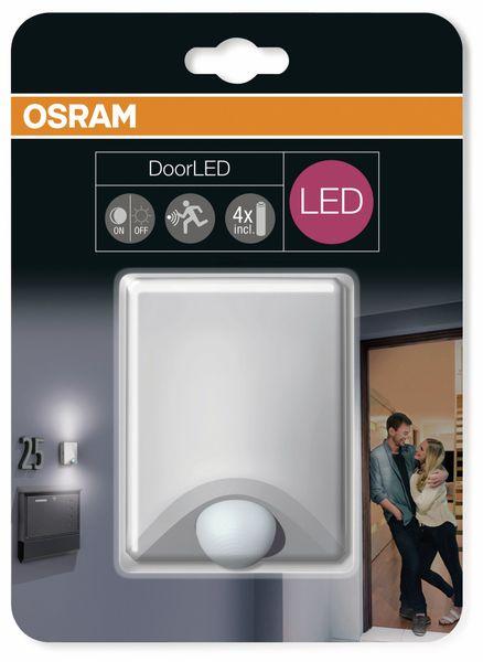 LED-Leuchte OSRAM DoorLED UpDown, mit Bewegungssensor, silber - Produktbild 3