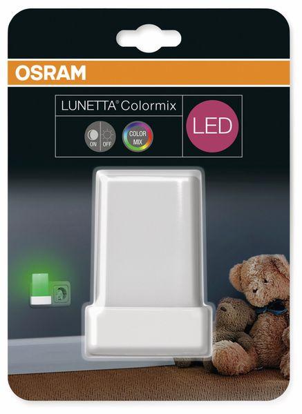LED-Nachtlicht OSRAM Lunetta Shine RGB, weiß - Produktbild 5