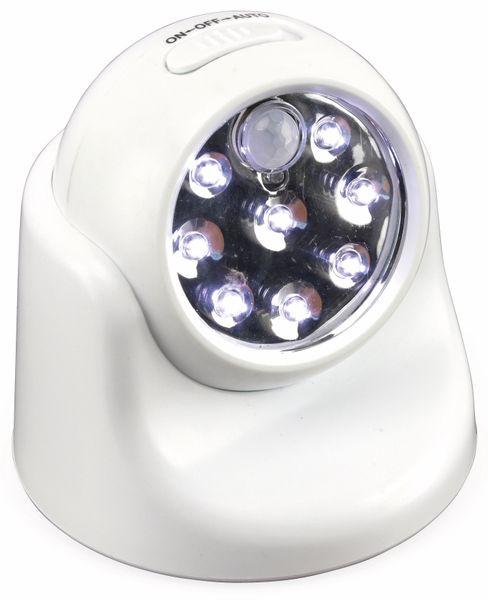 LED-Nachtlicht mit Bewegungsmelder, 8LEDs