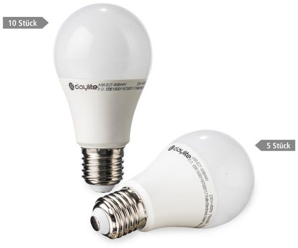 15er LED-Lampen-Set DAYLITE, EEK: A+, 10x A60-E27-806WW + 5x G-E27-M490WW - Produktbild 1