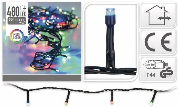 LED-Lichterkette, 480 LEDs, bunt, 230V~, IP44, Innen/Außen - Produktbild 4