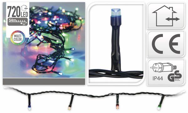 LED-Lichterkette, 720 LEDs, bunt, 230V~, IP44, Innen/Außen - Produktbild 4