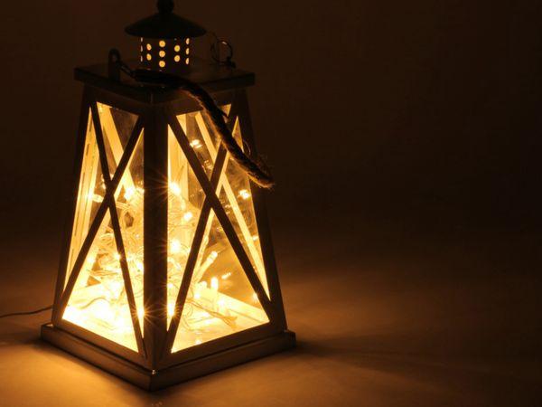LED-Lichterkette, 320 LEDs, warmweiß, 230V~, IP44, Innen/Außen - Produktbild 2
