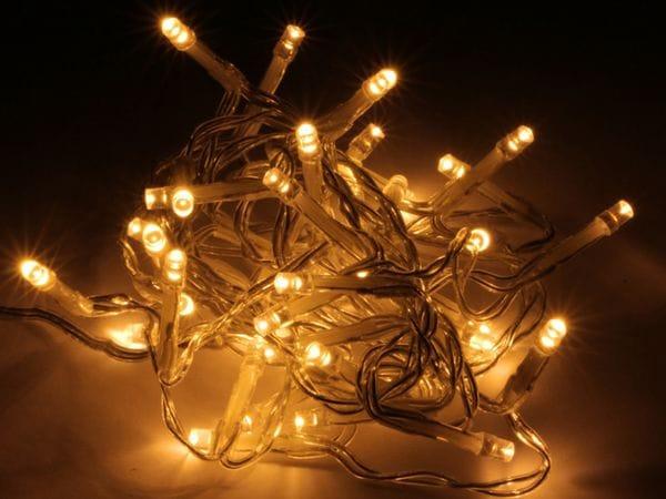 LED-Lichterkette, 720 LEDs, warmweiß, 230V~, IP44, Innen/Außen